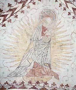 Jomfru Maria i solgissel