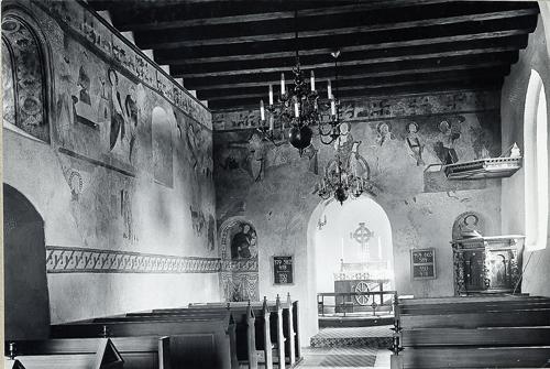 romansk kirke grundplan